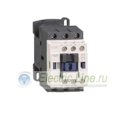 LC1D09BL Контактор Schneider Electric D 3Р,9 A,НО+НЗ,24V DС, 2.4 ВТ